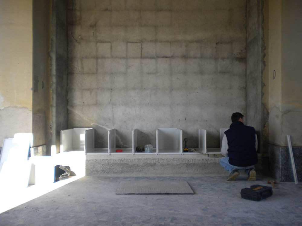 Installazione Qbox Cinerari in vetroresina 4040 e 4070