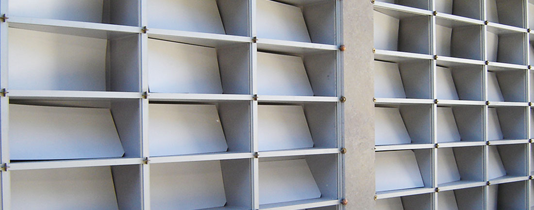 Qbox Ossari di fascia in alluminio