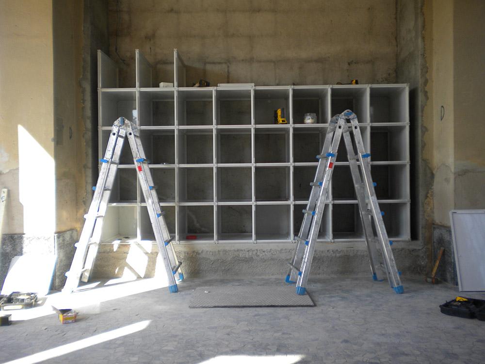 Qbox Cinerari in vetroresina 4040 e 4070