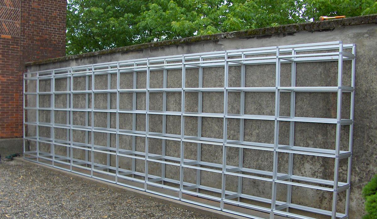 Ossari di fascia in alluminio